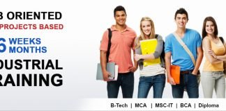 six months industrial training in patiala