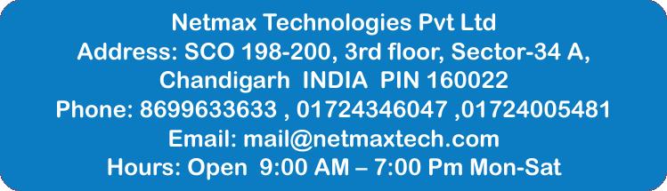 Netmax-office-contact 6 months industrial training for ece 6 Months Industrial Training For ECE 7eb1250dc24d5b8a9a29448cb99816b9 5